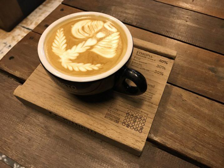Saturn latte(350円)