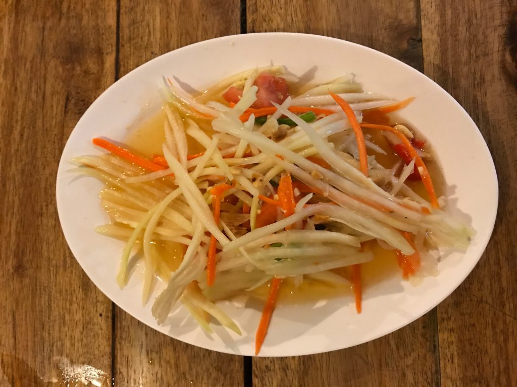 ⑯ Som Tam Thai 140円