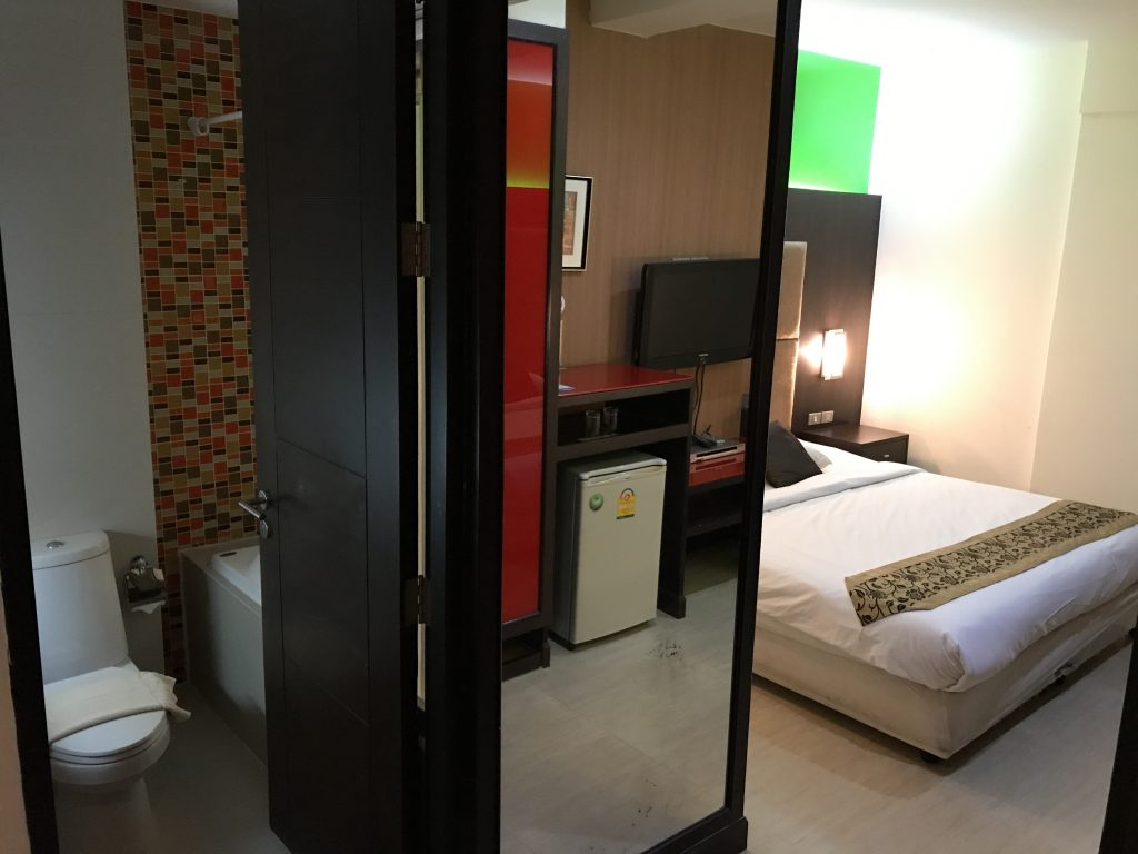 NIDA Rooms Queen Sukhumvit 18 Residenceの部屋