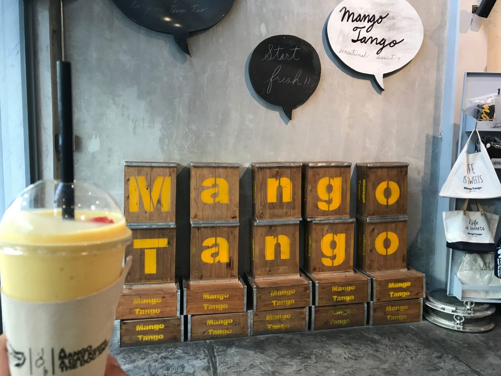 Mango TangoのMango Smoothie(350円)