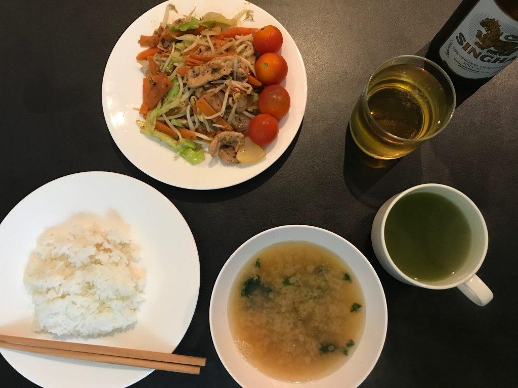 (調理時間20分)野菜炒めに挑戦!