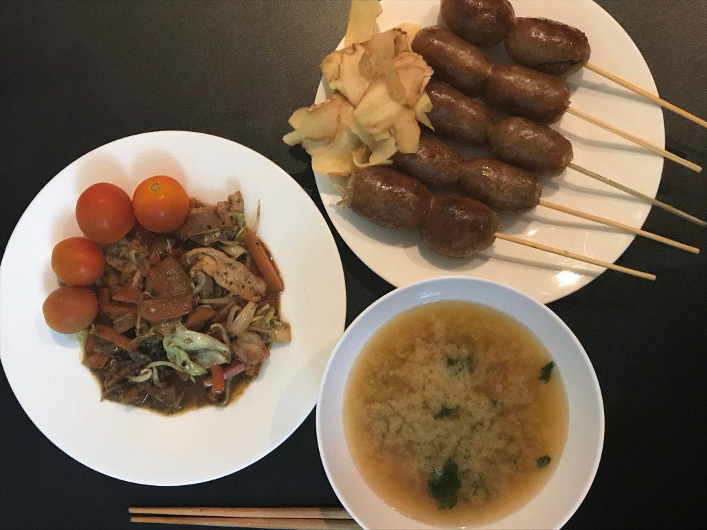 (調理時間15分)しつこく野菜炒め!