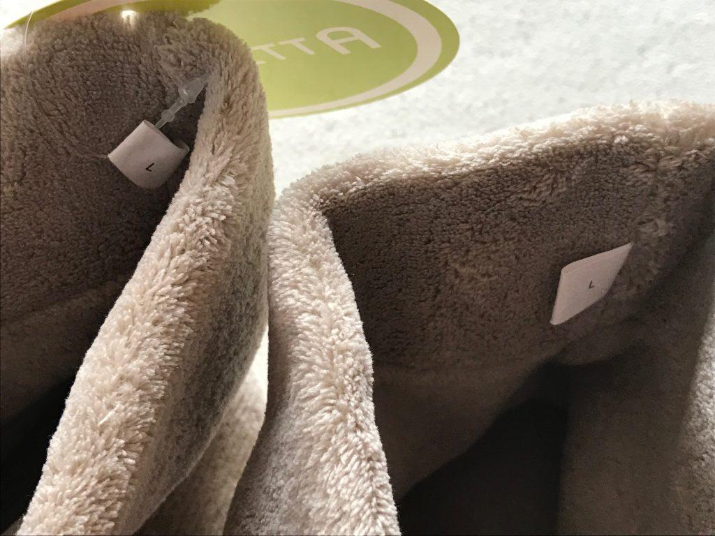 バレッタ(VALLETTA)ルームブーツ 天然リネン素材 26-27cm