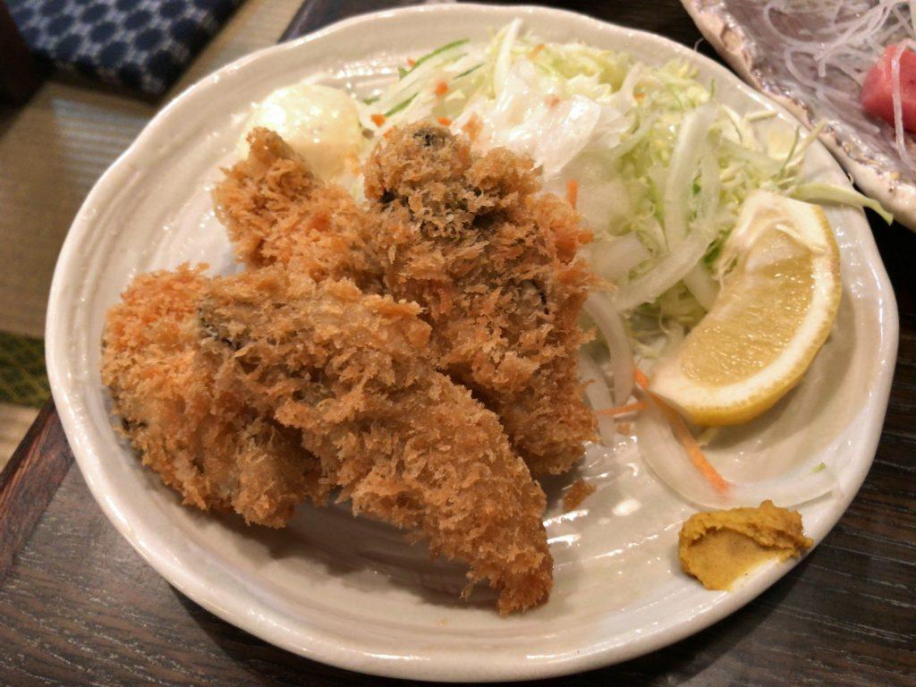 カキフライ(730円)