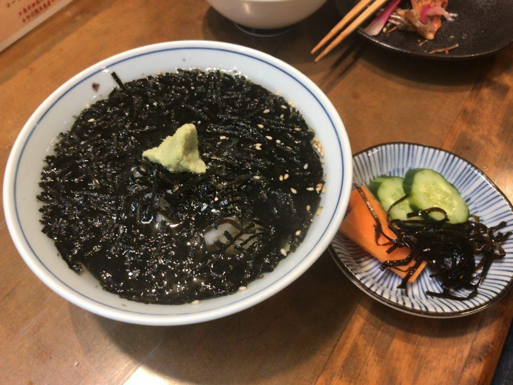 海苔茶漬(500円)