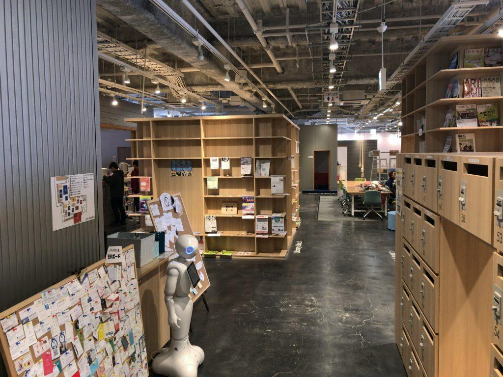 熊本のコワーキングスペース「未来会議室」の設備