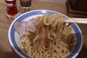 【舎鈴】豚玉油そば690円(丸の内店)