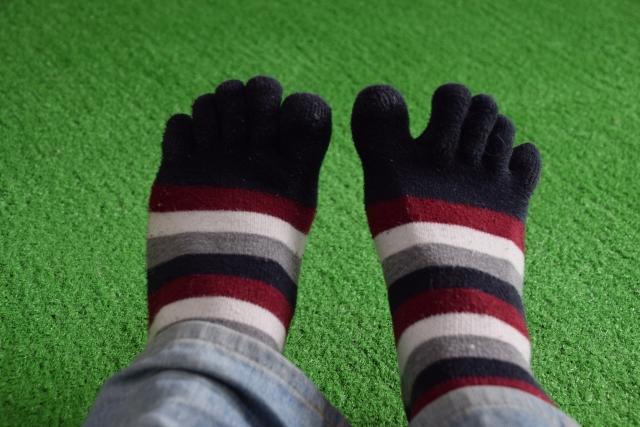【メンズ】お洒落な5本指ソックス(靴下)を探してみた