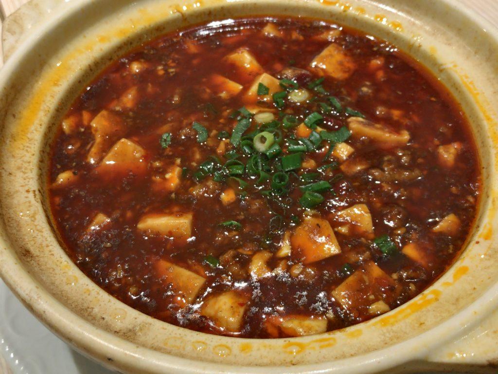 麻婆豆腐(980円)