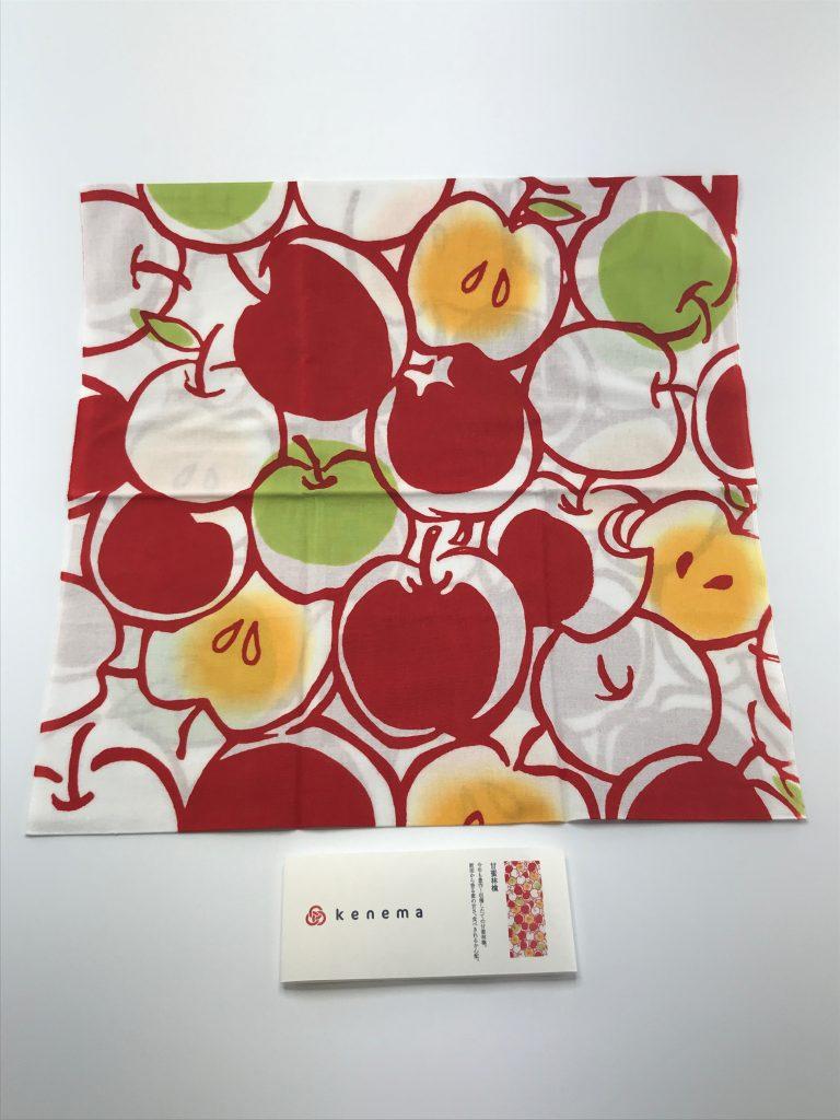 ⑤ 手ぬぐい 甘蜜林檎(1,620円)