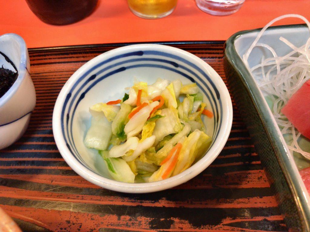 味安の本マグロ定食(980円)