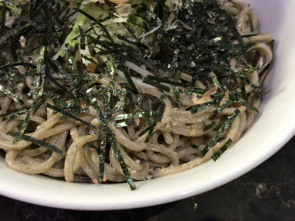 つけ蕎麦 六文銭の魚介つけ蕎麦カツオ風味400g(780円)