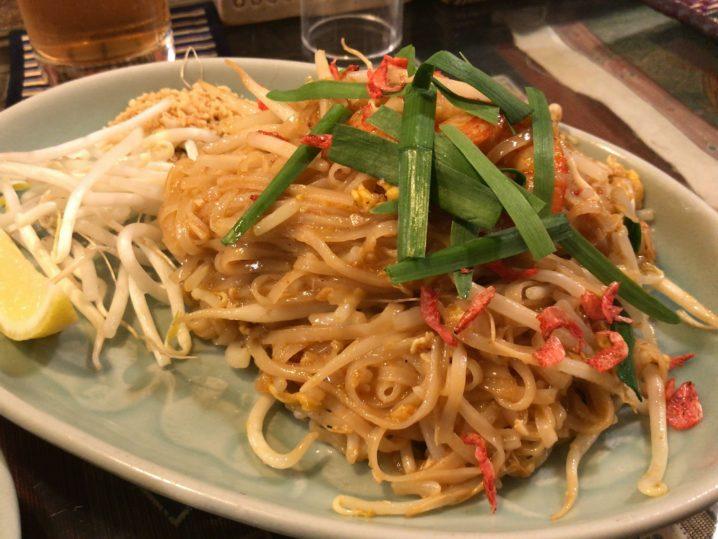 【自由が丘】人気のタイ料理店「クルンサイアム」でパッタイ食べた✨