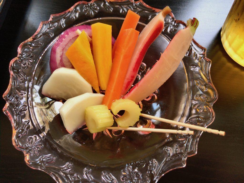【番外編】野菜ピクルス(500円)も美味しい