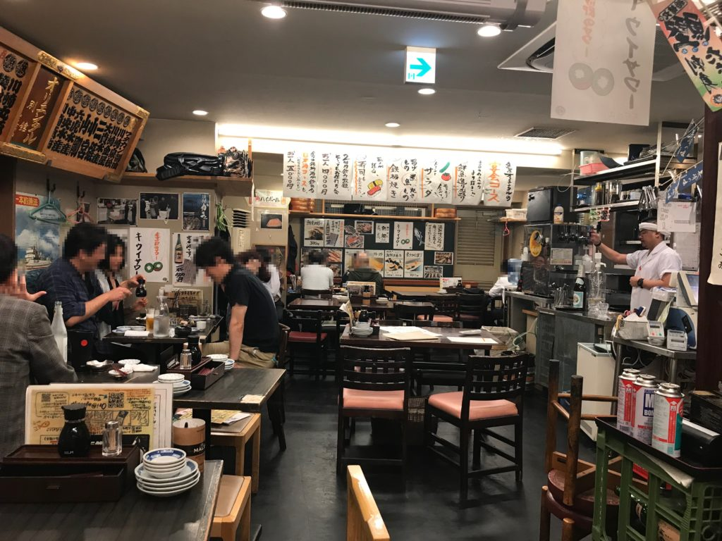 さかなの台所オリエンタル(東口店)の店内