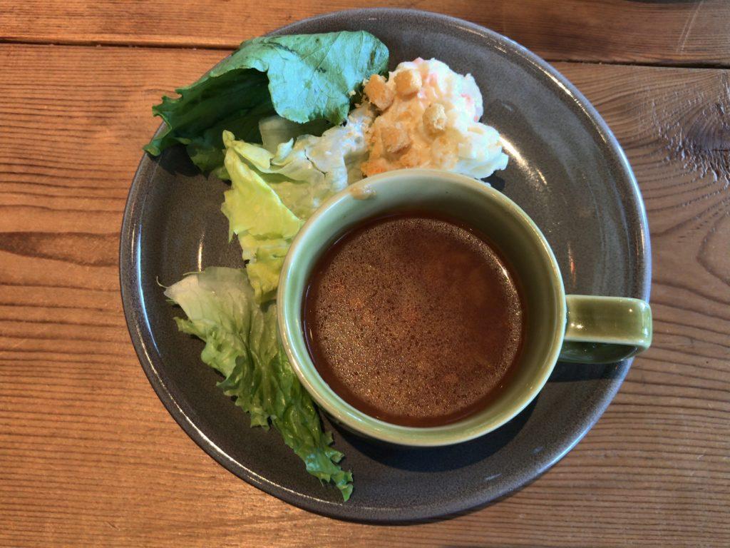 ビュッフェ&スープ(+0円)