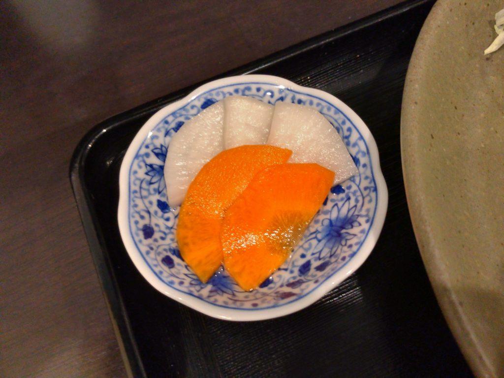 瓢(ひさご)のお漬物