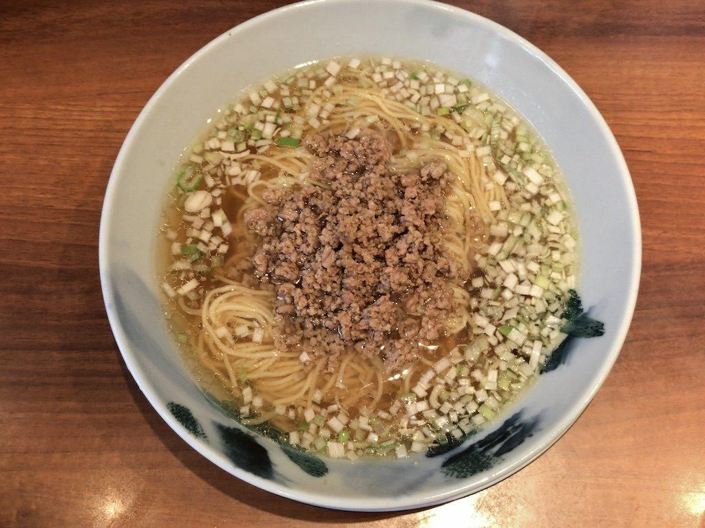 仙ノ孫の特製醤油ラーメン(1,250円)