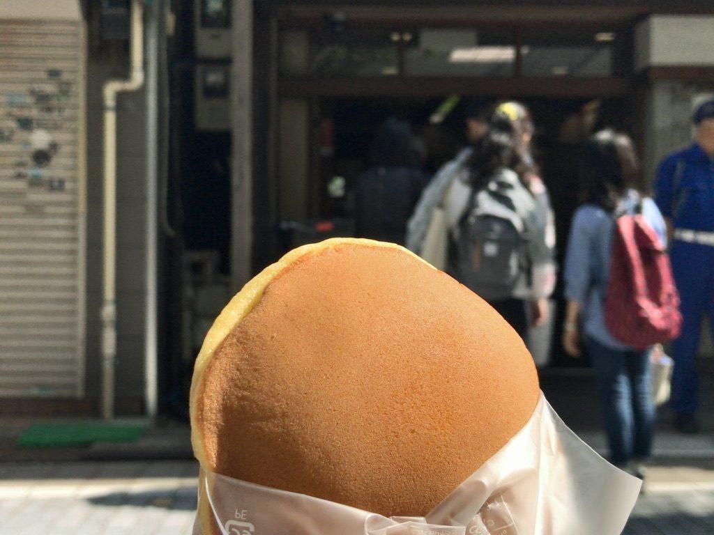 うさぎや阿佐ヶ谷店のどらやき(190円)