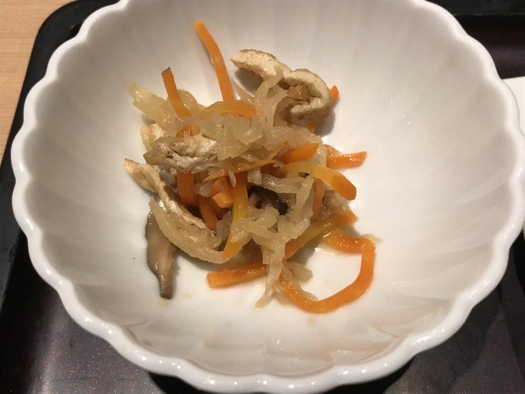 やまやの切り干し大根と人参と椎茸の煮物