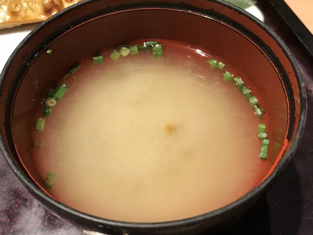 やまやのお味噌汁
