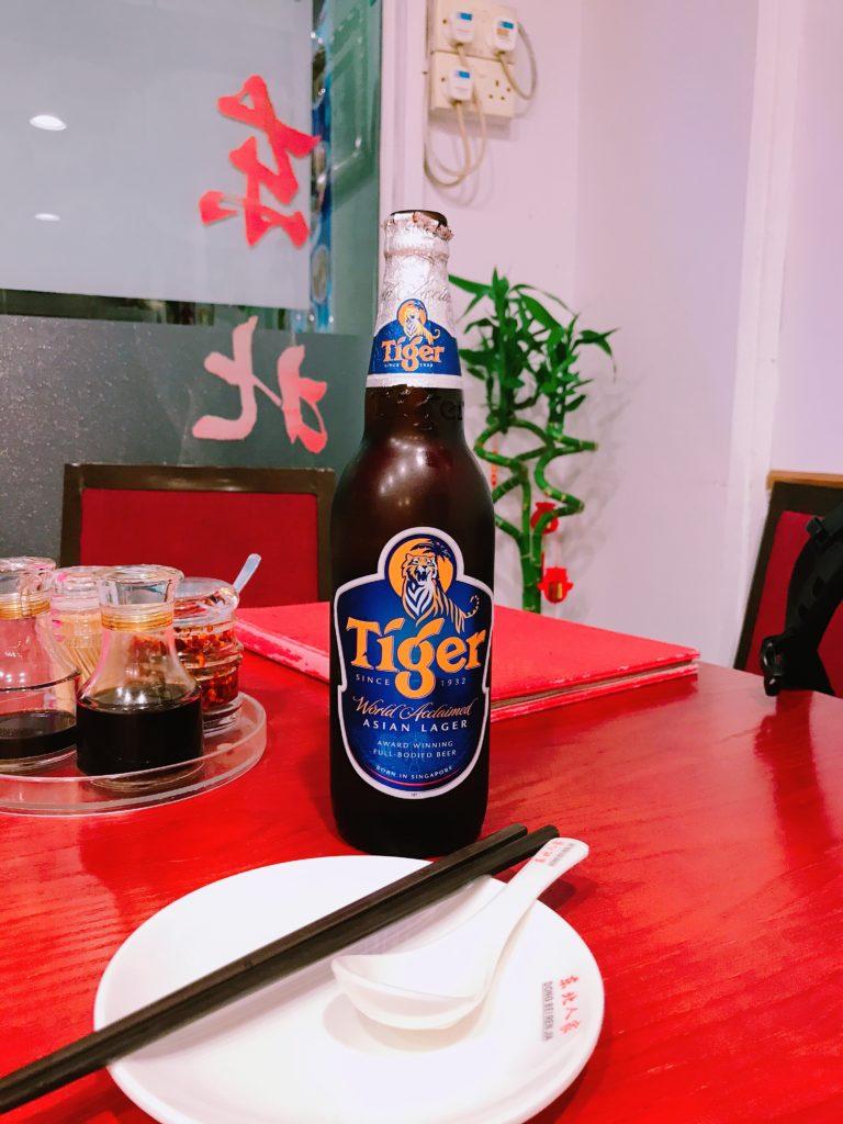 タイガービール(640円)