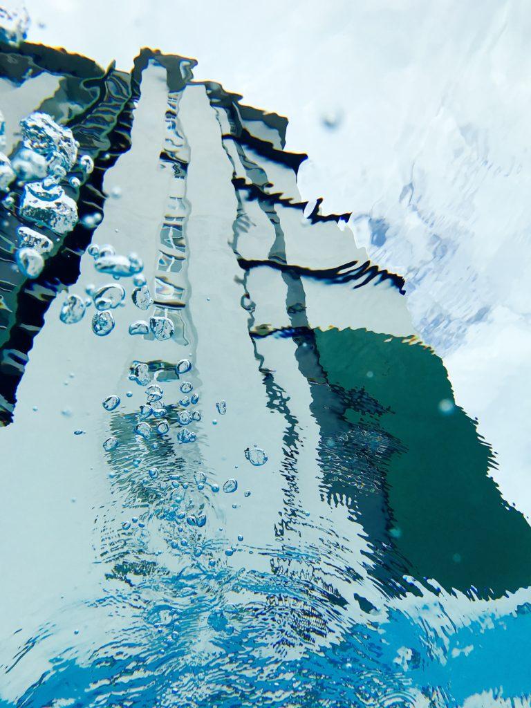 Molek Pulaiの巨大プール