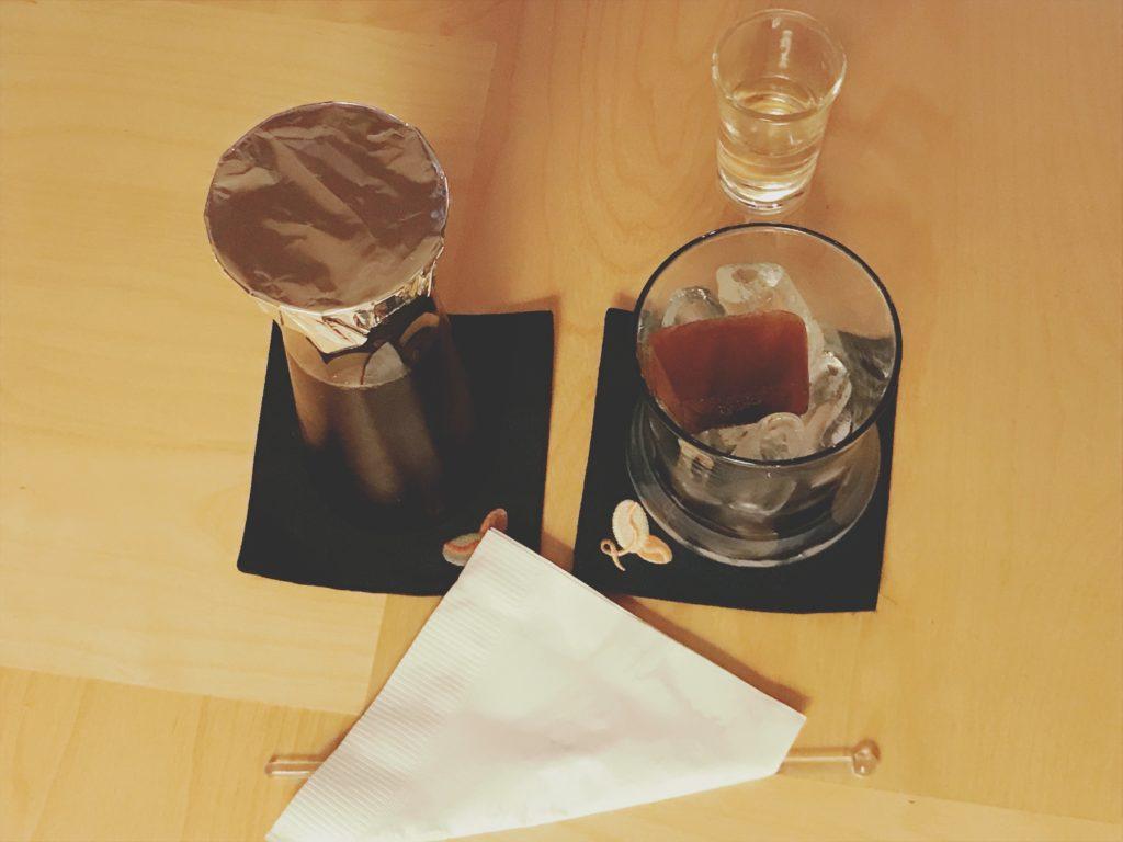 my libericaの水出しアイスコーヒー(450円)