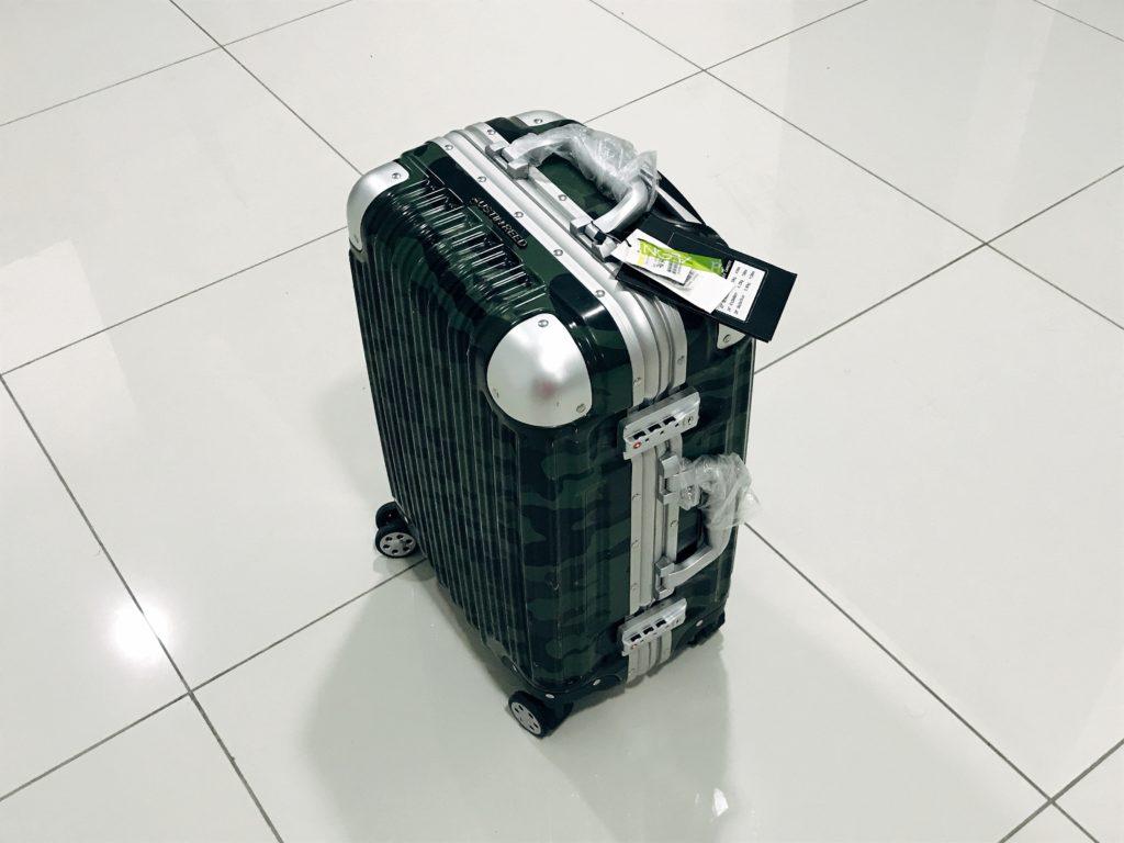 現地で小型スーツケース探しの旅