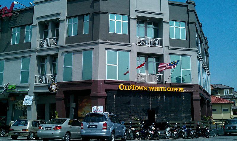 ホワイトコーヒーで有名なマレーシアーのOLD TOWN