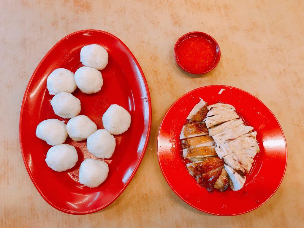 Ee Ji Ban Chicken Rice Ballのチキンライスボール
