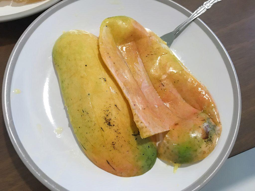 今回購入した1kg210円のマンゴー(2つめ)