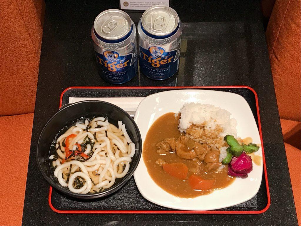 食事・ドリンクメニューの評価