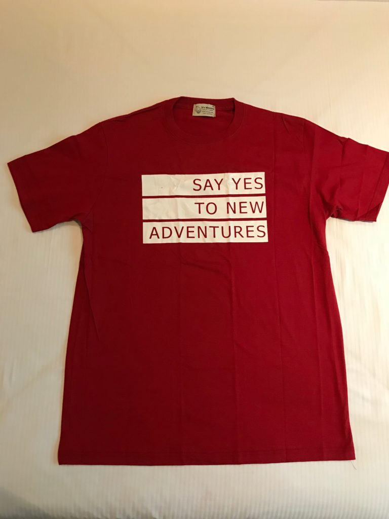 It's Monkey@The Platinum Fashion Mallで今回購入したTシャツ