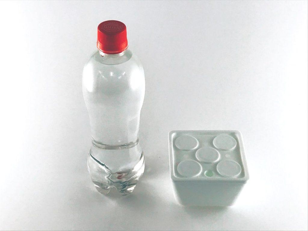 A液・B液それぞれ別のスポイドで500倍希釈