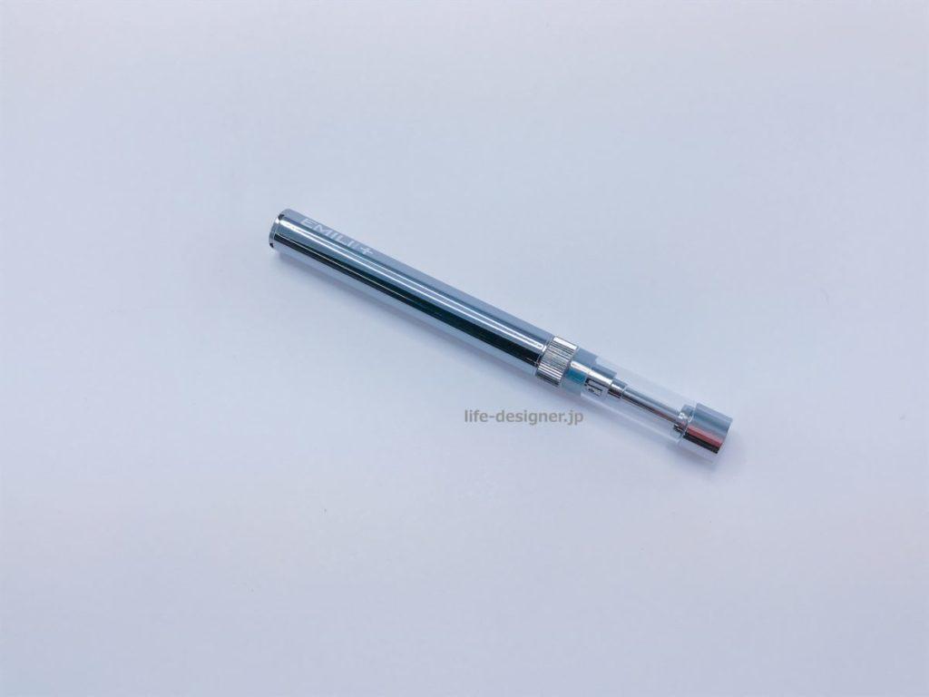 ①他の電子タバコと比べ物にならないくらい本体がかっこいい!