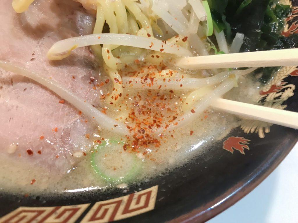 北海道ラーメン みそ熊(北千住店)の味噌ラーメン(680円)