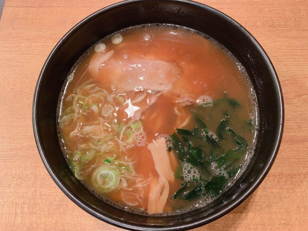 麺屋てぃーちのらーめん(680円)