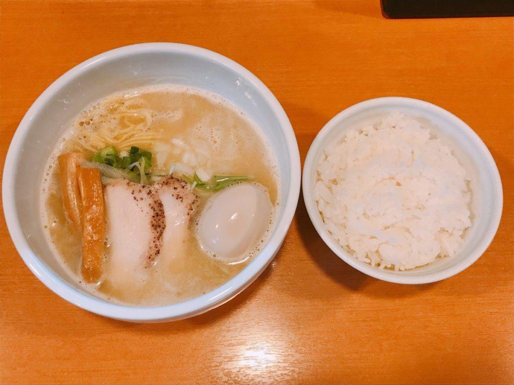 らーめん志(こころ)の塩ラーメン(750円)