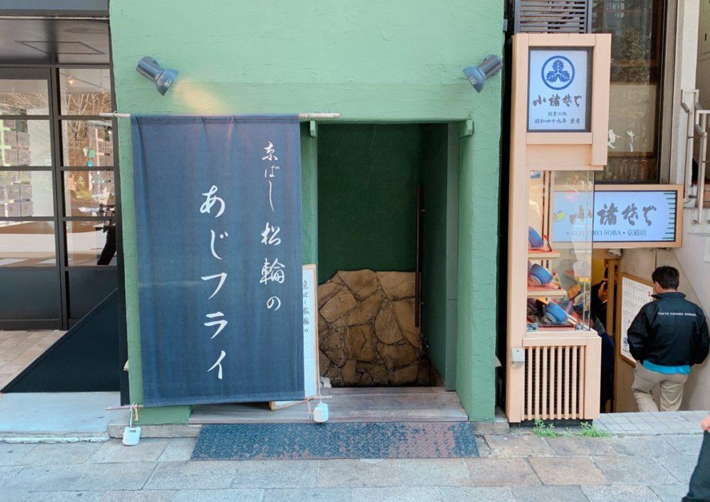 京ばし松輪の外観