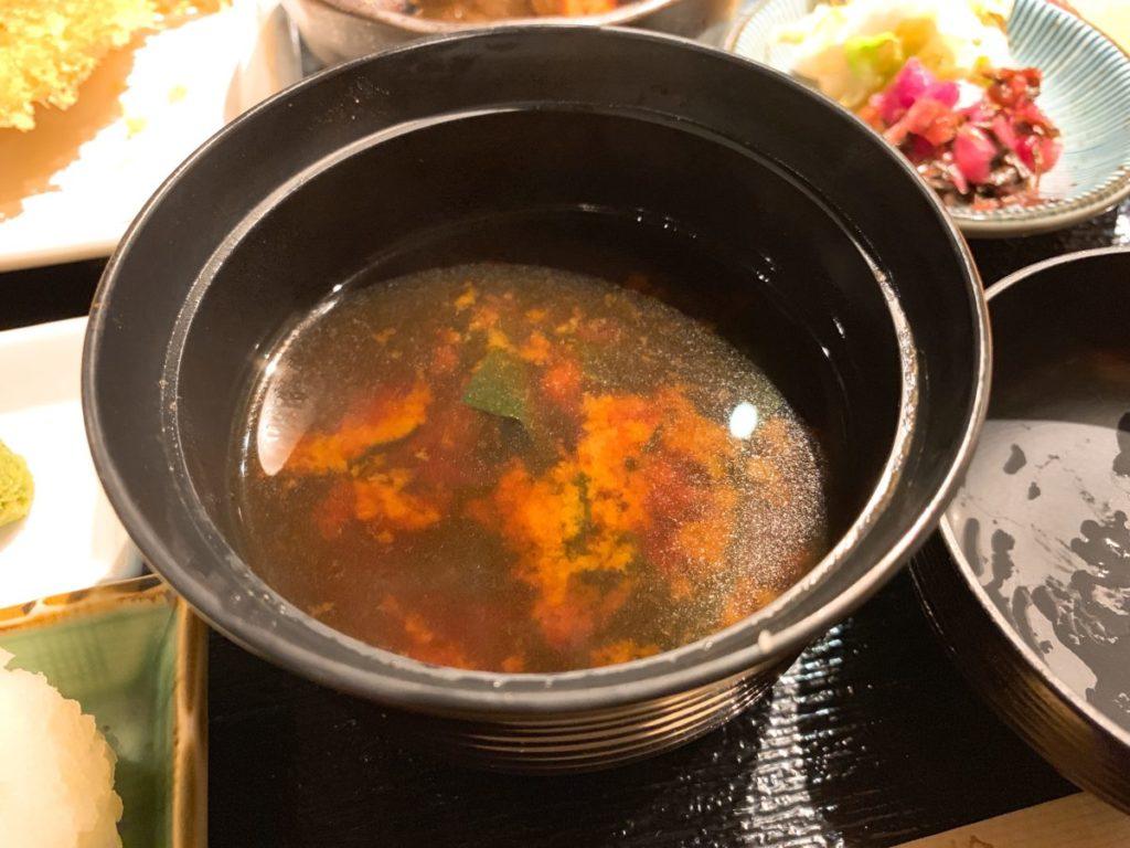 京ばし松輪の赤出汁