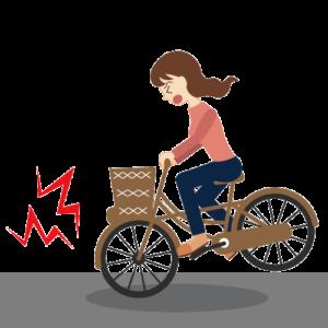 3) 自転車故障時のロードサービス