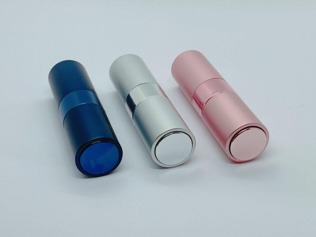 ⑤ シンプルデザインのアルミ容器